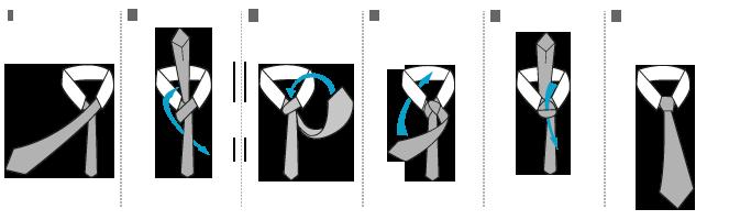 doppelter windsor knoten krawattenknoten die wichtigsten krawattenknoten pin doppelter windsor. Black Bedroom Furniture Sets. Home Design Ideas