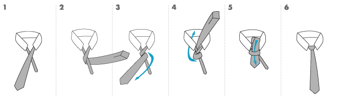 Knoten-Four-In-Hand