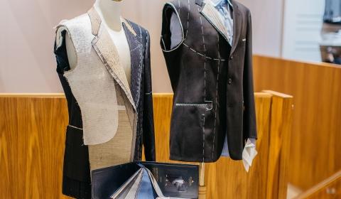 Maßkonfektion bei SIEGERT- Mode für Männer